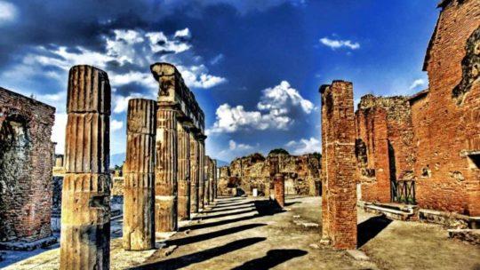 Un tuffo nel passato, scavi e opere archeologiche nella zona del Vesuvio