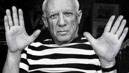 Pablo Picasso é il protagonista della rubrica un tuffo nel passato di oggi.