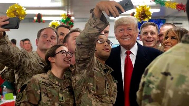 """Gli eserciti di """"liberazione"""" occidentale calano la maschera, Trump pensa alla grazia"""