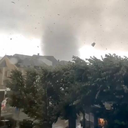 Due tornado colpiscono Lussemburgo e Olanda