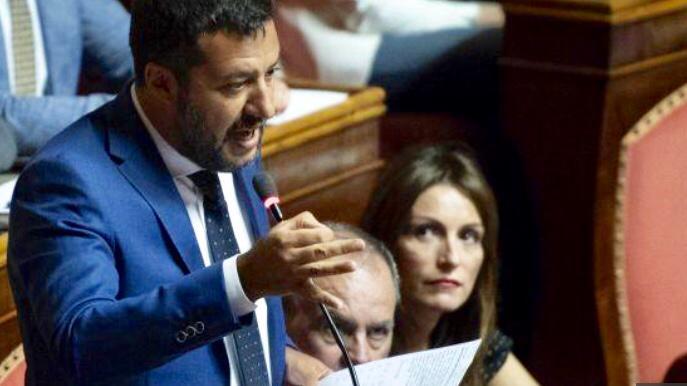 Ieri il Senato ha bocciato la proposta della Lega sul voto di sfiducia il 14 agosto al governo Conte