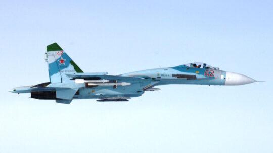 UNO SU-27 HA ALLONTANATO UN CACCIA DELLA NATO DALL'AEREO DI SHOJGU SUL BALTICO