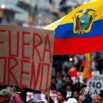 In Ecuador il popolo in rivolta contro il regime neoliberista di Lenin Moreno che risponde con la repressione