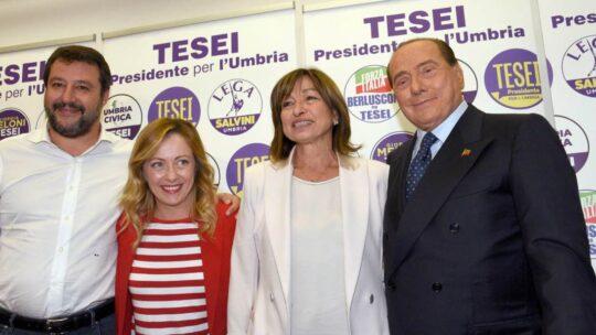 Dopo 50 anni l'Umbria non è più una regione rossa