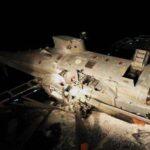 Un elicottero militare è precipitato su una nave militare a conclusione delle esercitazioni davanti alla costa di Teulada