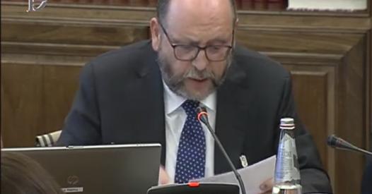 """Giacché alla Camera:""""Per l'Italia è prioritaria l'esigenza di ritornare su un sentiero di rientro del debito pubblico ma deve essere chiaro che la riforma del MES non è un meccanismo facilitatore in tal senso, anzi così facendo si rischia di innescare una nuova crisi del debito"""""""