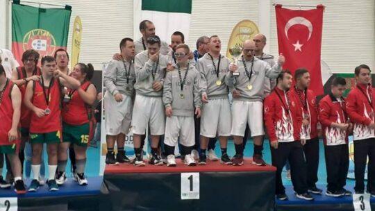 Basket, la Nazionale italiana con sindrome di Down è campione del mondo