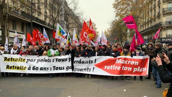 La CGIL ha espresso solidarietà ai lavoratori francesi?