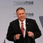 Pompeo afferma a Monaco che gli Usa sono pronti a sponsorizzare la guerra Ucraina contro la Russia