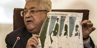 """Il presidente palestinese Mahmoud Abbas annuncia la sospensione di """"tutte le relazioni"""" con gli Stati Uniti e Israele"""