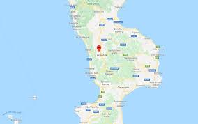 Una scossa di terremoto si è verificata poco dopo le 17 in Calabria