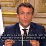 """""""Il coronavirus non ha passaporto!"""" Macron insiste sul fatto che non è necessario chiudere i confini francesi a meno che l'UE non sia d'accordo, intanto ordina la chiusura delle scuole e delle università"""