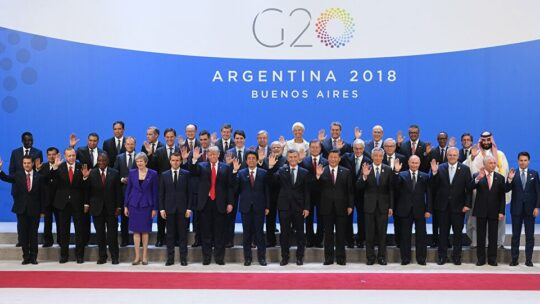 Vertice G20 d'emergenza per il Coronavirus si terrà il 26 marzo