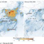 Le restrizioni imposte dal governo cinese per il coronavirus hanno generato una grande diminuzione dell'inquinamento