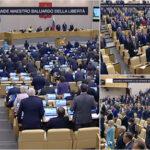 Scomparsa di Giulietto Chiesa: la Duma russa in piedi per un minuto di silenzio