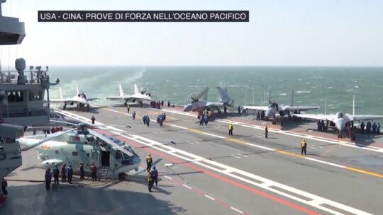 USA – Cina: prove di forza nell'Oceano Pacifico