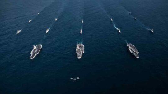 Nuova provocazione USA. Washington invierà 2 portaerei nel Mar Cinese Meridionale, dove Pechino conduce manovre militari