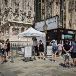 Prende in ostaggio vigilante nel Duomo a Milano, arrestato