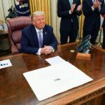 "Trump: ""accordo storico  Israele-Emirati Arabi Uniti """