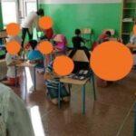 Scuola Caffaro, primo giorno senza banchi