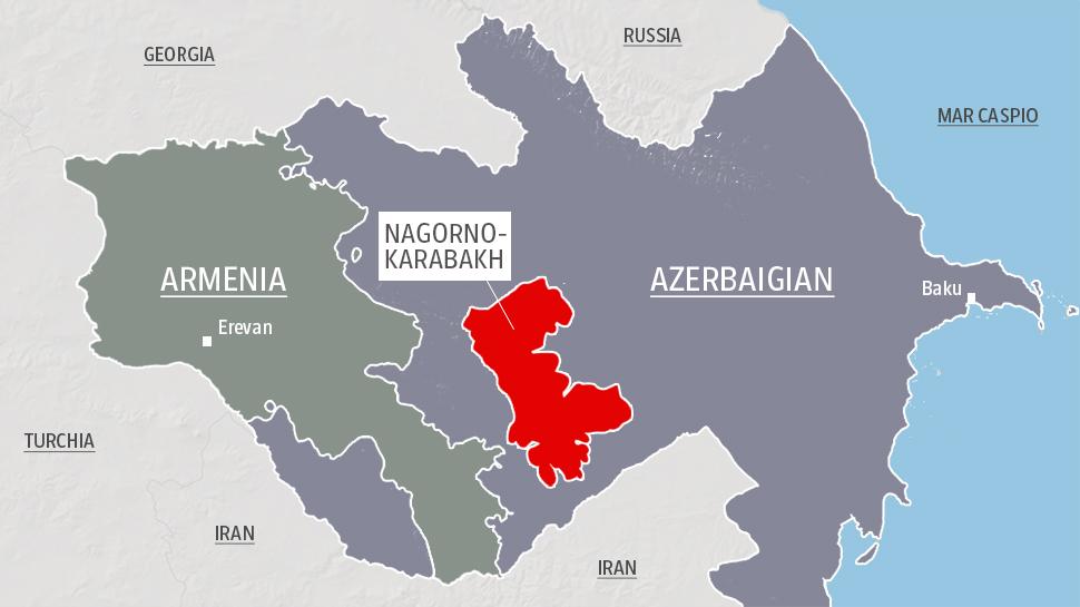 Continuano gli scontri tra l'Azerbaigian e l'Armenia