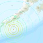 Terremoto di magnitudo 7,5 al largo della costa dell'Alaska