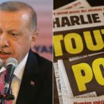 """Il governo turco condanna il """"disgustoso"""" fumetto di Charlie Hebdo che mostra Erdogan """"in privato"""""""