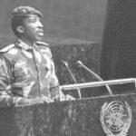 33 anni fa oggi veniva assassinato Thomas Sankara. Il discorso all'Onu che lo ha reso immortale