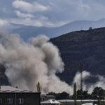 Segnalate esplosioni in Nagorno-Karabakh dopo il cessate il fuoco