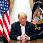 Donald Trump ha annunciato che sta bene e lascerà a breve l'ospedale