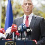Kosovo, il presidente Thaci si dimette dopo la conferma delle accuse per crimini di guerra