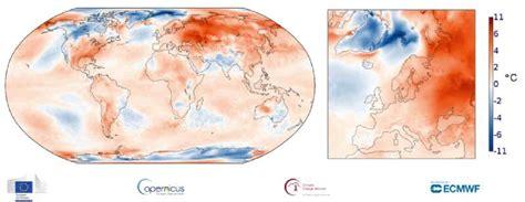 Clima: ottobre 2020 il terzo più caldo della storia