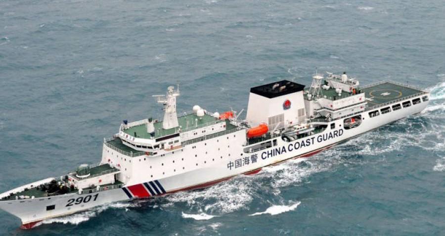 La Cina autorizza la guardia costiera a fare fuoco sulle navi straniere