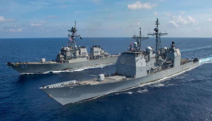 3 navi da guerra Usa entrano nel Mar Cinese meridionale