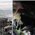 Maltempo: a Napoli crolla l'arco borbonico, preziosa testimonianza dell'antico molo