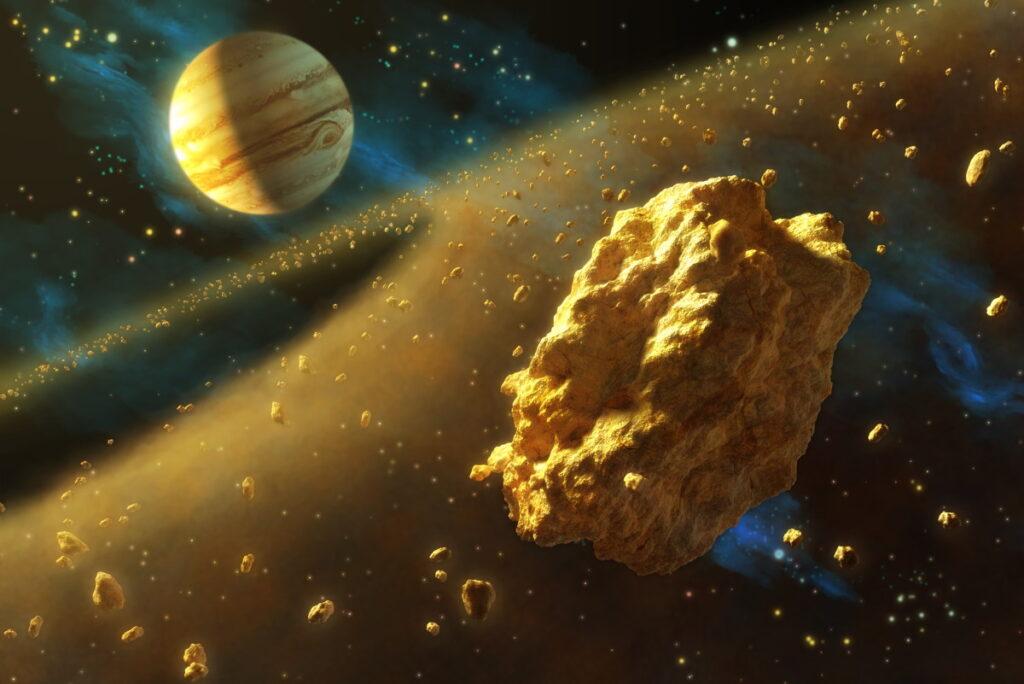 Il meteorite caduto in Sudan faceva parte di un gigantesco asteroide errante