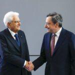 Draghi ha accettato con riserva l'incarico conferitogli dal Presidente Mattarella