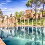 Scoperto a Villa Adriana un triclinio acquatico unico al mondo