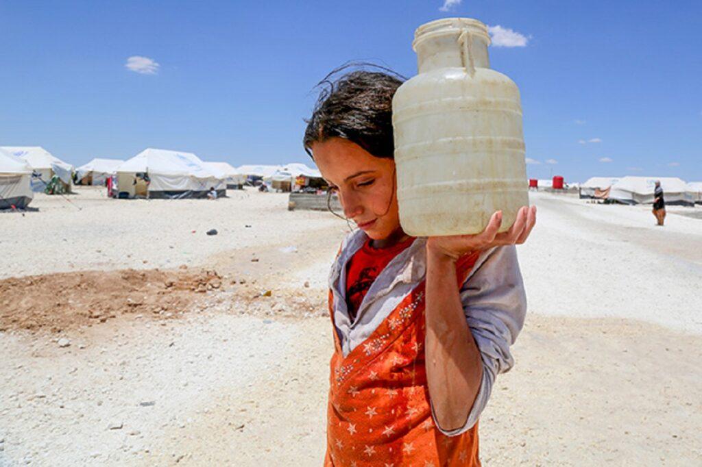 L'acqua non sicura è più letale dei proiettili per i bambini