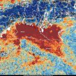 Il pesante inquinamento del Nord Italia visto dallo spazio grazie al satellite europeo Sentinel-5P