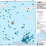Sciame sismico nell'Adriatico: più di 65 scosse da ieri, la più forte di magnitudo 5.6