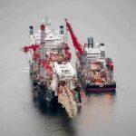 Navi straniere attive nell'area di costruzione del Nord Stream 2