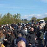 Nuova protesta dei ristoratori. Bloccata la A1 nel tratto Valdarno