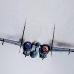 Caccia russi Su-27 hanno intercettato aerei tattici francesi sul Mar Nero
