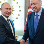 Erdogan propone a Putin invio di una forza di pace in Palestina