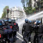Francia (Ue), cariche contro i manifestanti per la Palestina