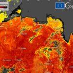 Le temperature della superficie terrestre hanno raggiunto 47° nel Circolo Polare Artico
