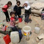 Civili privati dell'acqua in Siria. Vergogna Usa, Turchia, Onu, curdi!