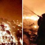 Disastro ambientale a Giugliano: in fiamme ecoballe di rifiuti. L'aria diventa irrespirabile