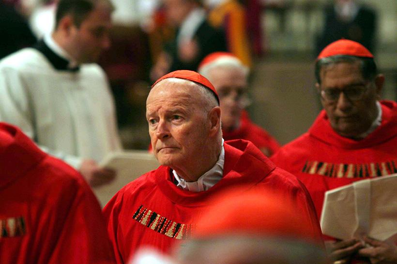 Usa: ex cardinale McCarrick incriminato per pedofilia in Massachusetts